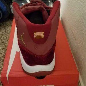 7f005d2bd0c578 Jordan Shoes - Crush red velvet Jordan 11s.